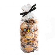 BAG of 200gr of crunchy biscuits - Croquants - La Biscuiterie Lolmede