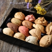 Box of 14 macaroons - Gifts space - La Biscuiterie Lolmede