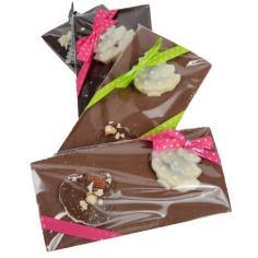 Christmas dark slab - La Biscuiterie Lolmede