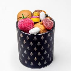 Photophore  macaroons and chocolates - La Biscuiterie Lolmede