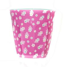 La Biscuiterie Lolmede :  - Glass with pink flowers