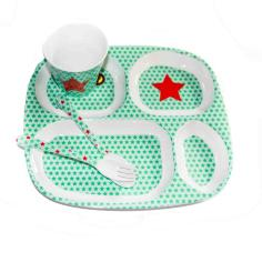 La Biscuiterie Lolmede :  - Chils plate with stars